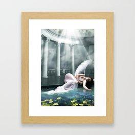 Waiting In Heaven Framed Art Print