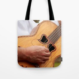 Typical Azores guitar Tote Bag