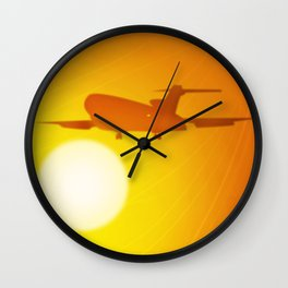 The Golden Goddesses  Wall Clock
