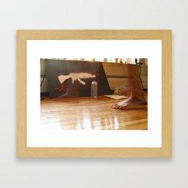 AK_spray Framed Art Print