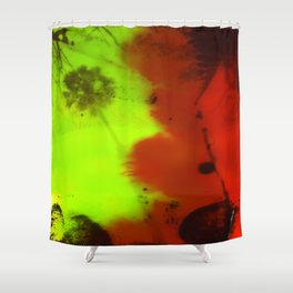 Napalm Shower Curtain