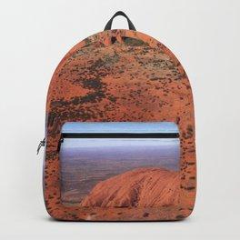 Australia Photography - Uluru In The Desert Backpack