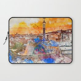 Barcelona, Parc Guell Laptop Sleeve