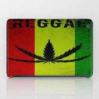 reggae iPad Cases featuring REGGAE by shannon's art space