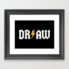 DR/AW Framed Art Print