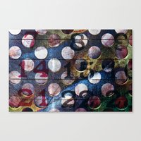 grid Canvas Prints featuring Grid by Stephen Linhart