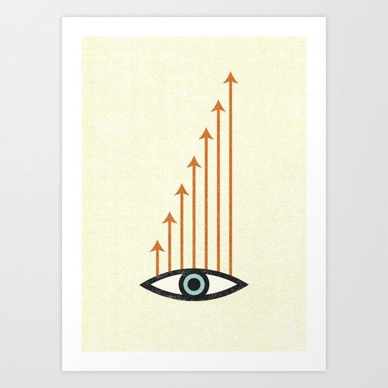 I Like What I See. Art Print