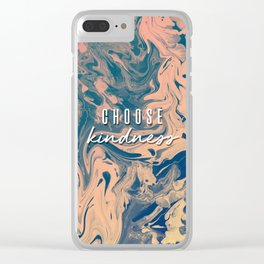 Choose Kindness Clear iPhone Case