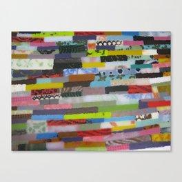 Glass strips Canvas Print