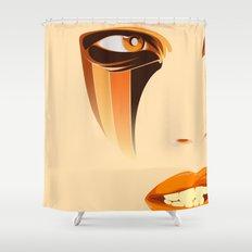 SUNSTREAKER Shower Curtain