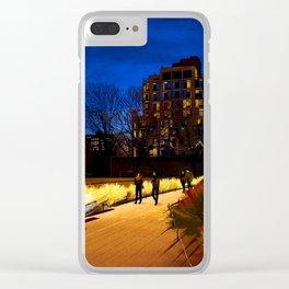 High Line Park Clear iPhone Case