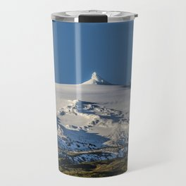 Snaefellsjokull volcano 3 Iceland Travel Mug