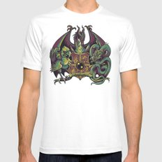 Guardian Forces White MEDIUM Mens Fitted Tee