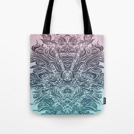 Soft Lines(P&B) Tote Bag