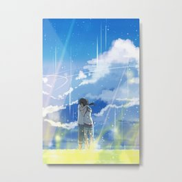 Weathering With You Metal Print