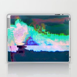 18-23-46 (Skyline Cloud Glitch) Laptop & iPad Skin