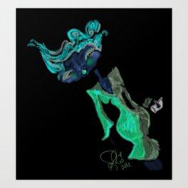 Grafitti Couture Prissy Penelope Doll Art Print