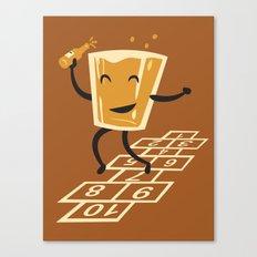 Hop-Scotch Canvas Print