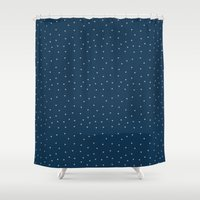 palms Shower Curtains featuring Palms by Pete Baker