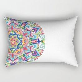 Beneath the Summer Sky Mandala Rectangular Pillow
