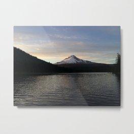 Mountain Goodbyes Metal Print