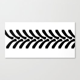 Tractor Tyre Tread Marks Canvas Print