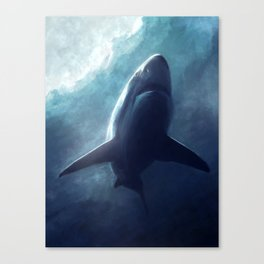The Shark Canvas Print