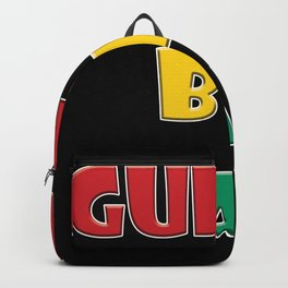 guinea bissau Country Flag Backpack