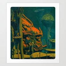 LOST KING Art Print