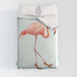FANCY FLAMINGO Comforters
