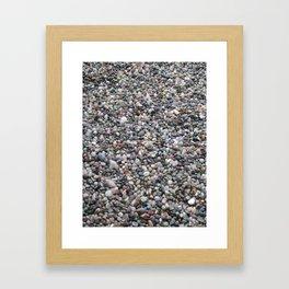 Rock Garden Framed Art Print
