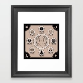 Witch Accessories Framed Art Print
