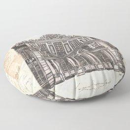 Chateaux de Versailles Floor Pillow