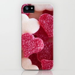 Gummy Hearts 2 iPhone Case