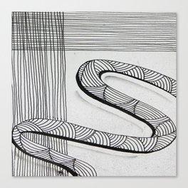 Lost Ribbon Canvas Print
