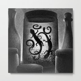 Drawlloween 2015: Witch Metal Print