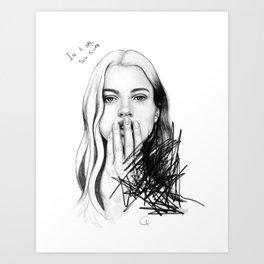 In A Way Art Print