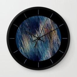 Below Zero Wall Clock