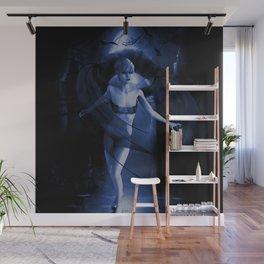 BAT GIRL Wall Mural