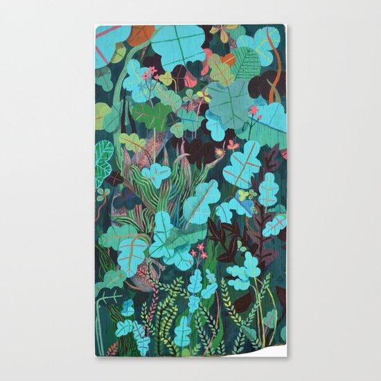Water Dragon Canvas Print
