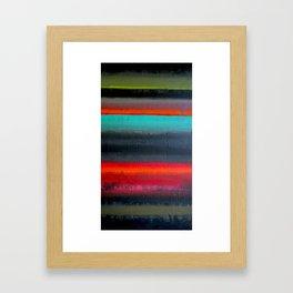 Stripe Mess Framed Art Print