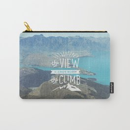 WORTH THE CLIMB Carry-All Pouch