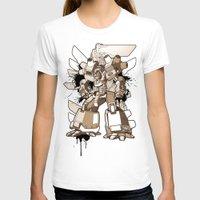 gundam T-shirts featuring Gundam Style by RiskeOne opc