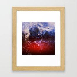 I am not afraid Framed Art Print