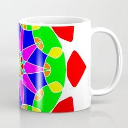 Mandala in vibrant colors Coffee Mug