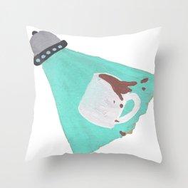Monday Mornings Throw Pillow