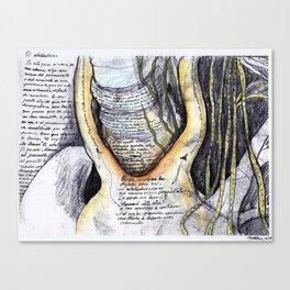 El atolladero Canvas Print