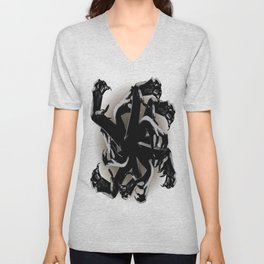 Claws Attack  Unisex V-Neck