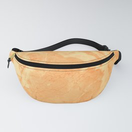Peach Marble texture Fanny Pack