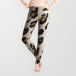 B&B Leopard Design Leggings
